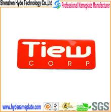 Factory design nameplate printing for metal plate