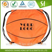 Factory Price customized shoulder strap basketball bag draswsrting