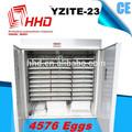 3 anos de garantia do ce totalmente automática incubadora industrial para o pinto para 4752 para incubação de ovos