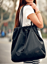 New product in 2015 nylon luxury shopping bag