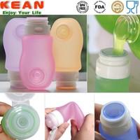 Mini Food Grade Silicone 3 oz Plastic Containers