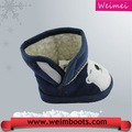 vendas quentes de alta qualidade de inverno mais recente design de moda inverno botas botas de crianças