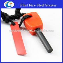 Emergency Survival Kit Magnesium Fire Starter Steel