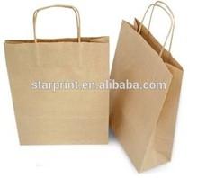 Kraft Paper Bags wth Handles