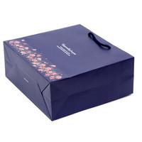 Laminate paper logo bulk gift bags bag