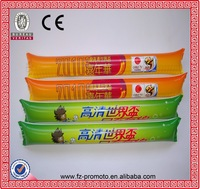 factory direct selling Promotional PE material inflatable cheering sticks