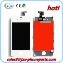 Leading market price for iPhone 4 LCD digitizer assembly with flex cable/dust mesh/bezel/camera lens