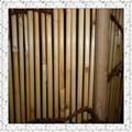 Cana de palha de cana cerca cortina de palha