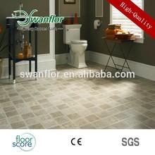 Vinyl planks flooring carpet/marble/wood type, beautiful surface treatment, Seamless uniclic