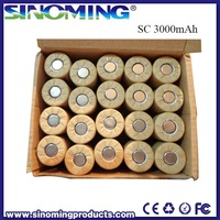 HJL Battery NIMH SC 3000mAh 1.2V rechargable battery best price NIMH battery supplier