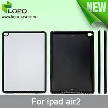 Sublimation blank silicon case for iPad Air 2 with aluminium sheet
