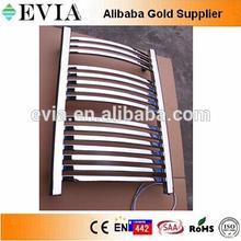Best selling ladder towel warmer brushed chrome railing
