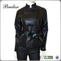 2015 damenmode lammnappa lederjacke, lederbekleidung, seifenschaum mantel