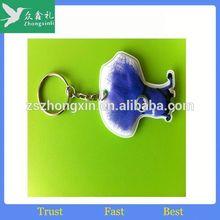 Supply Mini Hard Hat Led Keychain/Keyring/key chain/key ring Light, Logo imprint Helmet Keyholder,Cap Keyring