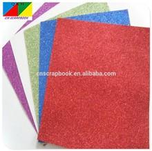 Red glitter paper/glitter card/glitter cardboard paper
