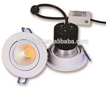 WHITE/SILVER/BLACK 6W led downlight luminaire,3 inch led downlight,ic rated led downlight