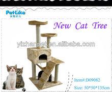 2015 Luxury Cat Scratching Toy Cat tree