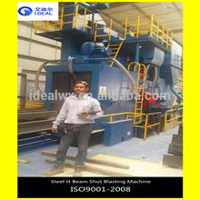 Export Columbia Steel Structure H Beam Surface Shot Blasting Polishing Machine