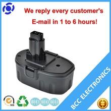 professional supplier China dewalt power tools battery 18v Ni-CD/Ni-MH 1.3Ah-3.3Ah