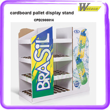 strong supermarket chain store cardboard promotion pallet display for plastic DIHAO Dolls Frozen 11.5 inch