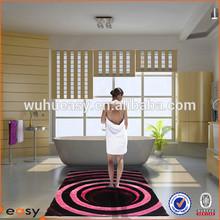 Super thickness and softness luxury Silk 3D floor carpet