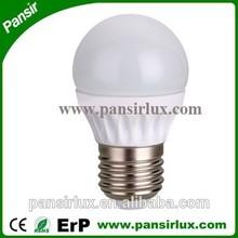 SMD energy saving led golf shap light 3w 4w led bulb e27 RA>80 ce/rohs/erp 4w bulb