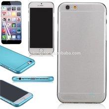 ultrathin soft TPU skin case for iphone 6 ,0.3mm TPU skin cover case for iphone 6