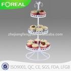metal coat powder 15 cups cake stands