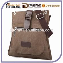 Small Leather Wholesale Canvas Shoulder Messenger Bag For Men