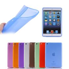 Soft Clear TPU Cover For iPad Mini 3