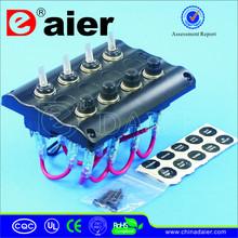 12V LED Toggle Switch/Marine Flexible Solar Panel
