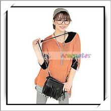 Hot Korean Style Concise Tassel Women's Small Messenger Bag