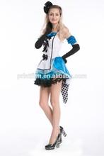 Halloween Cosplay Alice in Wonderland Queen of hearts Ladies Fancy Dress