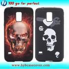 Combo skull case cover for samsung s5