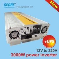 home 12v dc 220v ac invertor with 3000 watt power invertor ups