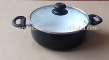 24cm aluminium stock pot with ceramic coating