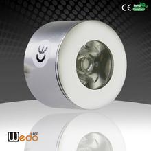 1w 12v Led Puck Light ,Mini LED Cabinet Furniture/ Elevator/ Ceiling /Show Case Museum/ Art Boat /Car Lighting