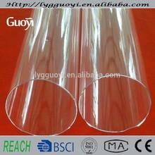 Transparent high-temperature large diameter clear tubing