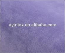various color polyester super soft velvet fabric/short plush fleece fabric material for sofa,bedding,baby blankets
