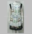 La forma del vestido tailandés tradicional vestido de made in china