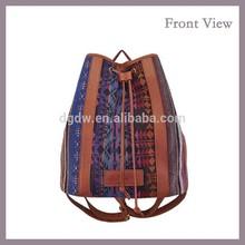 2015 New Fashion Canvas Backpack Haversacks Rucksack Canvas Handbag