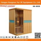 3 person dry far infrared sauna and steam rooms