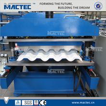 High Grade Steel & Aluminium Roofing Step Tile Manufacturing Machine