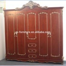 Hot sale guangzhou bedroom Five doors Wardrobe furniture with good price