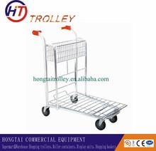 Heavy Duty Folding Logistics Transport Trolley for Warehouse SXE
