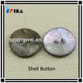 Dos agujeros de el logotipo con láser akoya concha botón/madre de la perla