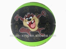 Basketball Size #2 promotional rubber toys