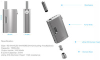 newest design joyetech egrip start kit black 2Watt mod by Tesla company 100% Authentic VW VV mod