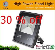 30% off Christmas big sale 30w led flood light outdoor led basketball court flood lights