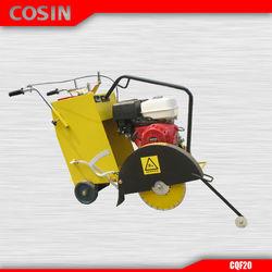 Gasoline Honda GX390 Engine Cosin CQF20 Asphalt Road Concrete Cutter
